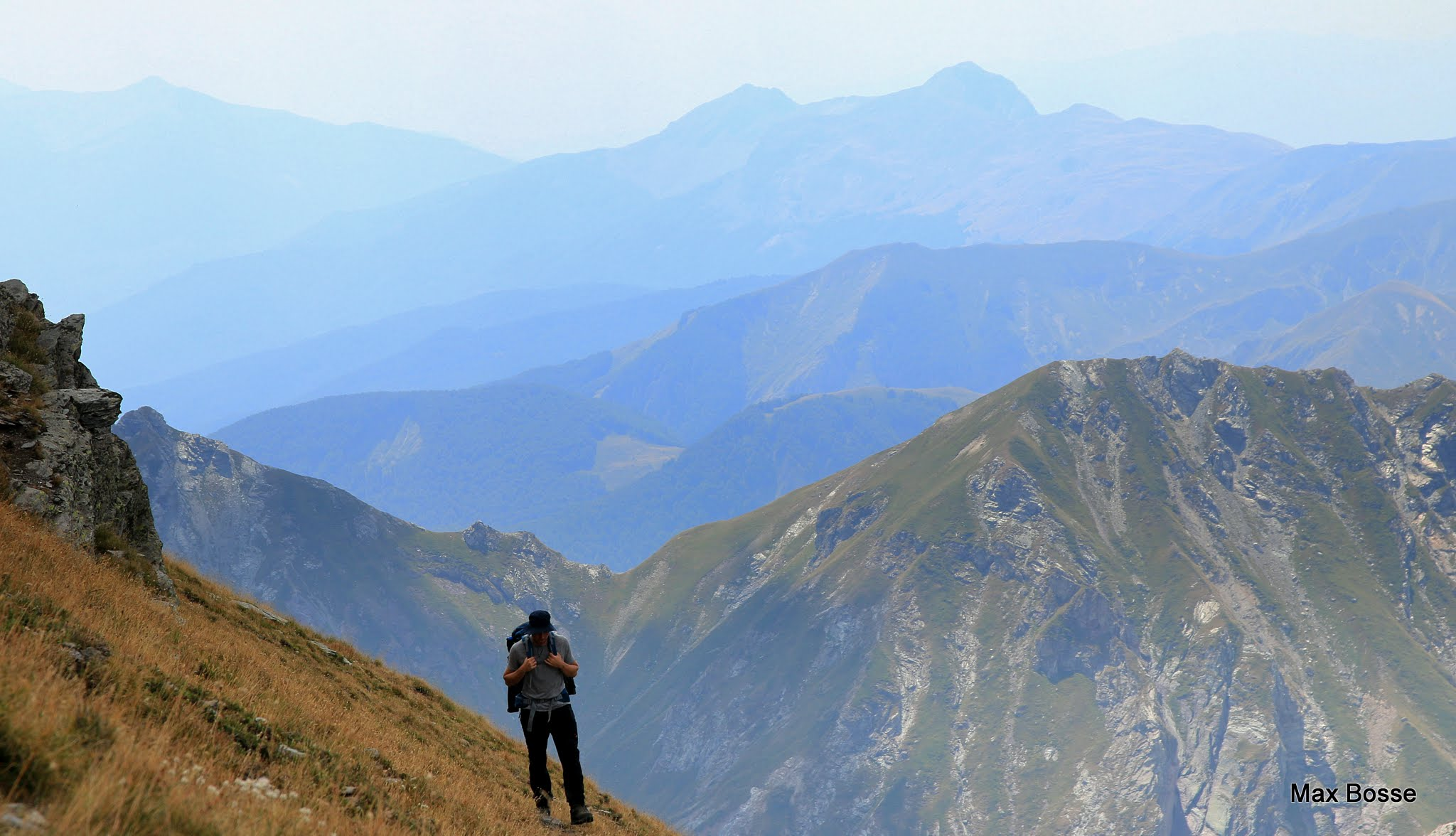 High Scardus Trail highest peak of Albania and North Macedonia
