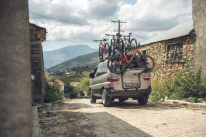 Zbulo Cycling Tour Albania Support Vehicle