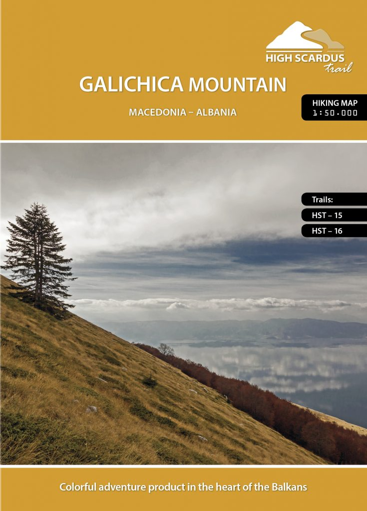 High Scardus Trail Map 6/6 Galicica Mountain